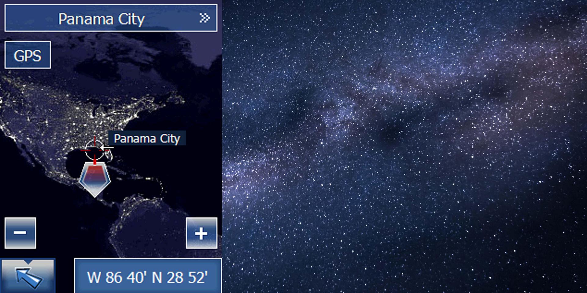 The first stargazing app