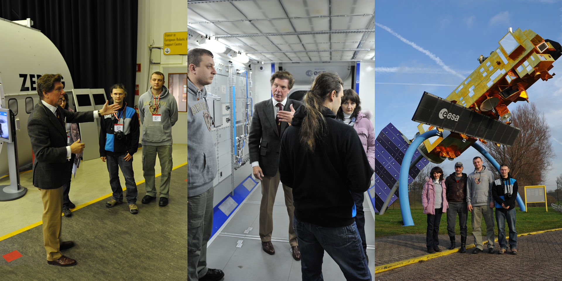 Collaboration with ESA