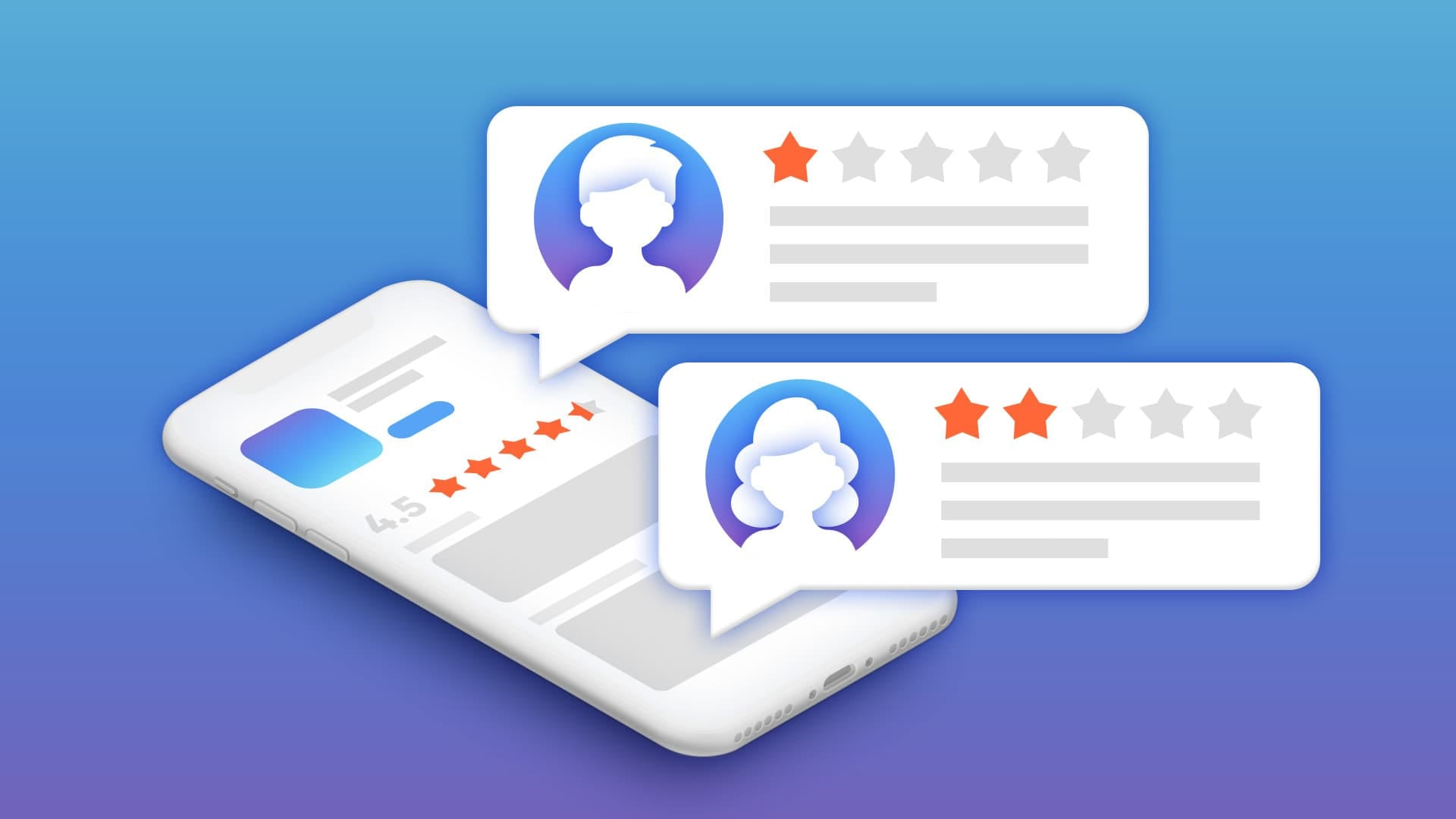 Negative Reviews in the App Stores