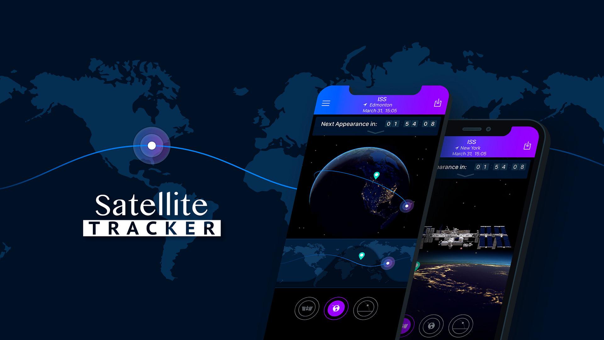 Satellite Tracker app