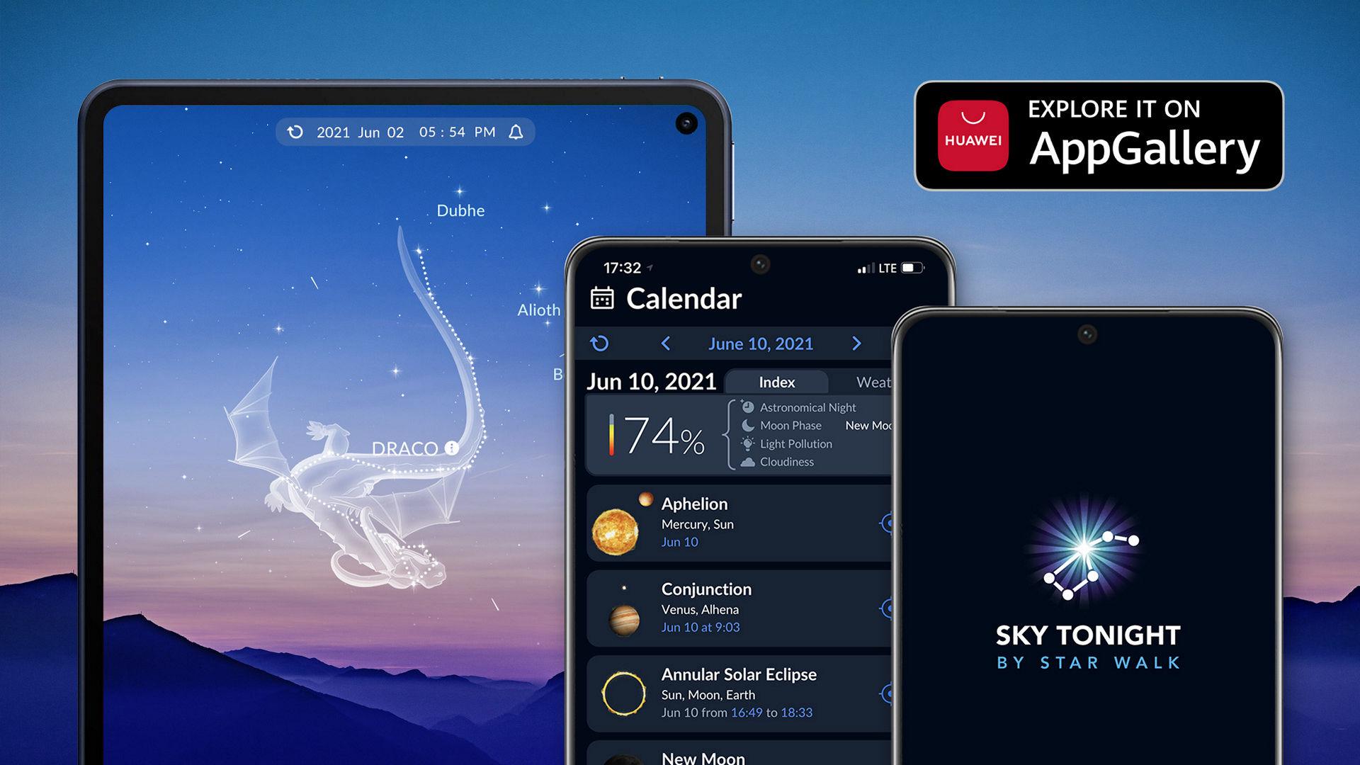 Sky Tonight by Star Walk on AppGallery