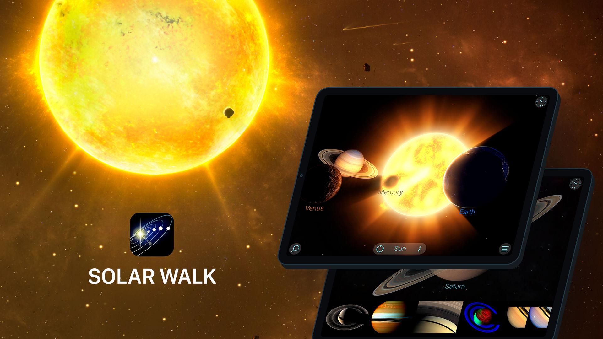 Solar Walk app